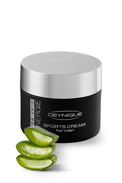 Aloe Vera SYNERGIE Sports Cream for men