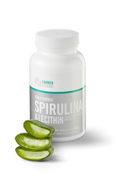 California Spirulina & Lecithin Tabs